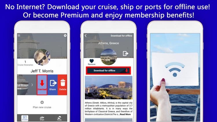 Cruise Itinerary App. CruiseBe screenshot-5