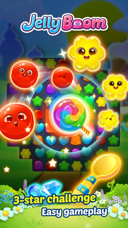 Jelly Boom HD screenshot-3