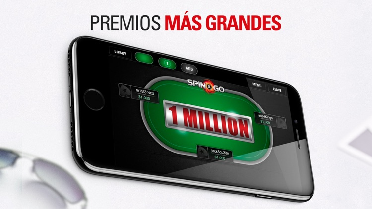PokerStars Juegos de Poker screenshot-3
