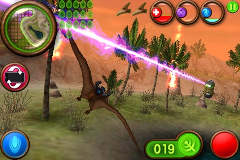 Nanosaur 2 screenshot 1