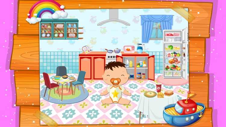My Baby Doll House Town Play screenshot-3