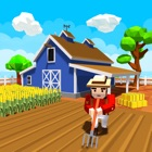 Blocky Farm Worker Simulator icon