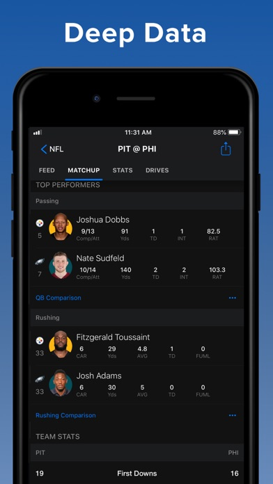 theScore: Sports News & Scores screenshot two