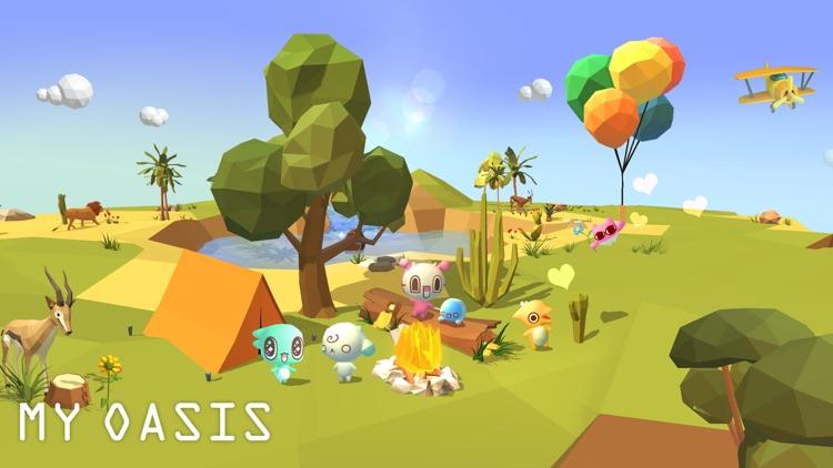 My Oasis: Relaxing Clicker App