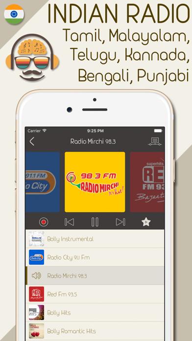 India Radio - Live Indian Radio Stations screenshot two