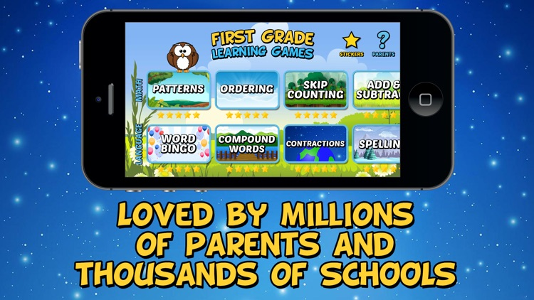 First Grade Learning Games screenshot-4