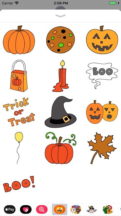 Happy Halloween Scary Sticker