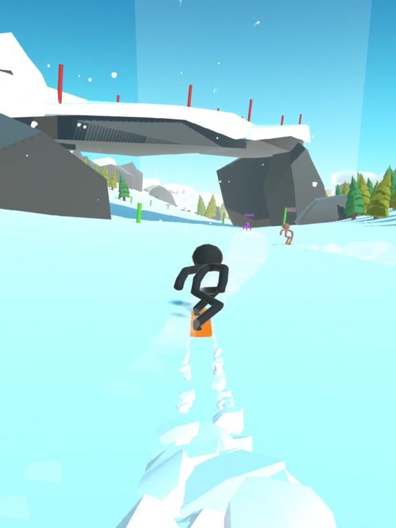 Stickman Snow Ride screenshot 6