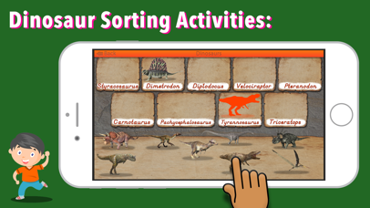 Let's Learn About Dinosaurs! screenshot 4