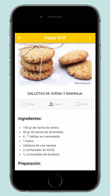 Happy BLW - Recetas Saludables screenshot-0