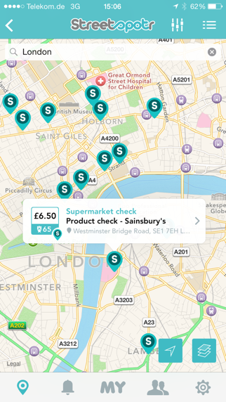 Screenshot #2 pour Streetspotr