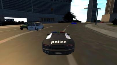 Police Car Driving Simulator 2017 screenshot one
