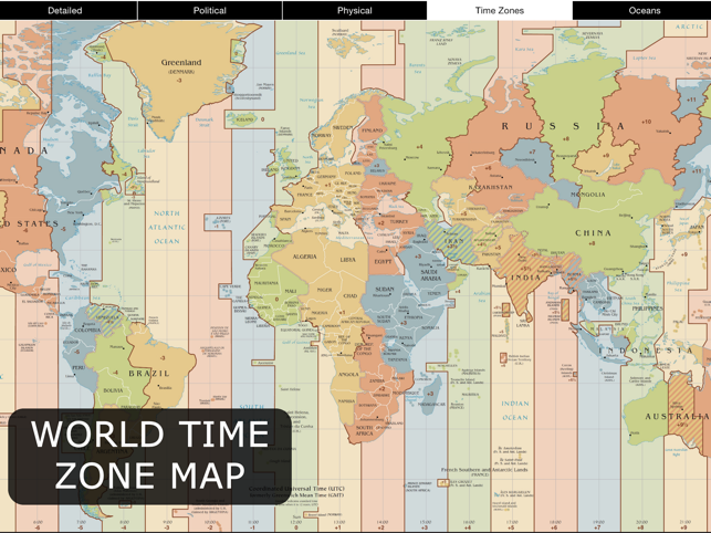 World map for ipad on the app store world map for ipad on the app store gumiabroncs Images