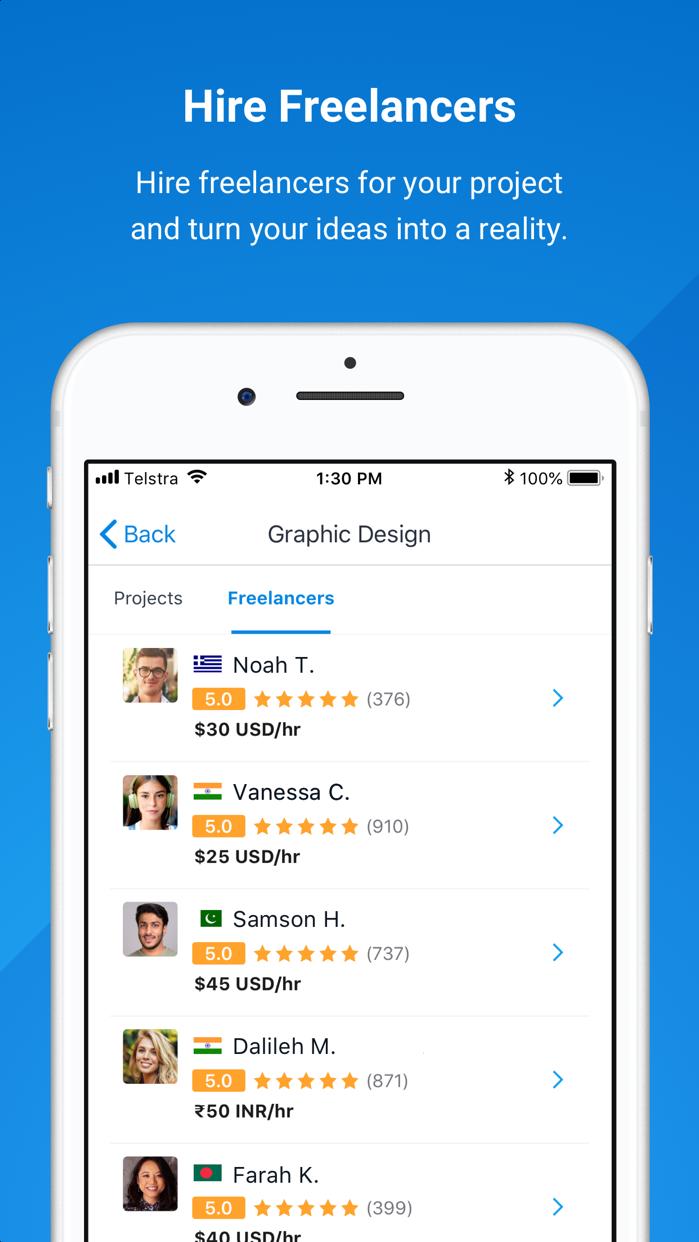 Freelancer - Hire & Find Jobs Screenshot