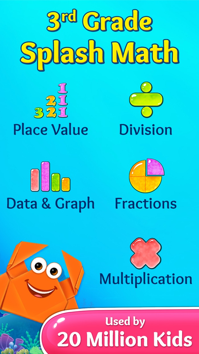 3rd Grade Math Games for Kids Screenshot