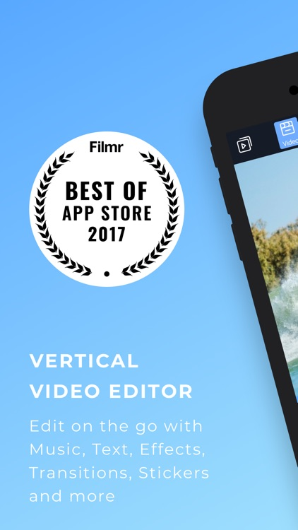 Filmr- vertical video editor screenshot-0