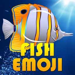Fish Emoji and Photo Stickers