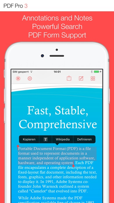 PDF Pro 3 IPA Cracked for iOS Free Download