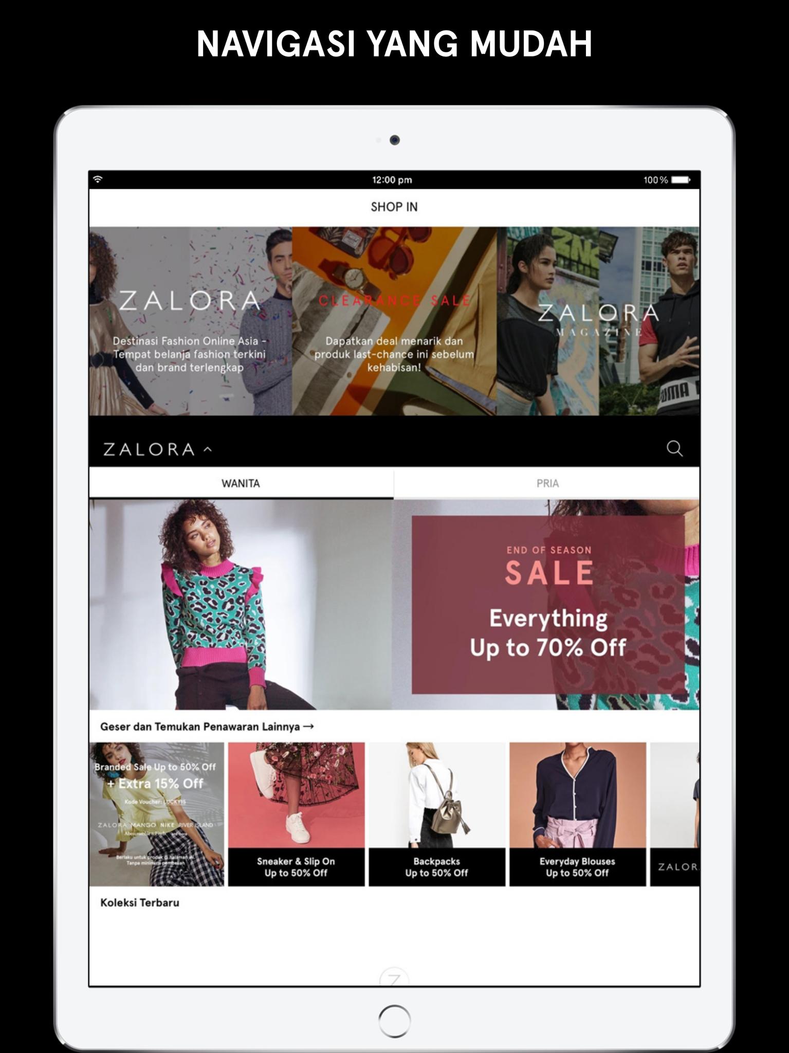 ZALORA Toko Fashion line Revenue & Download estimates Apple App Store Indonesia