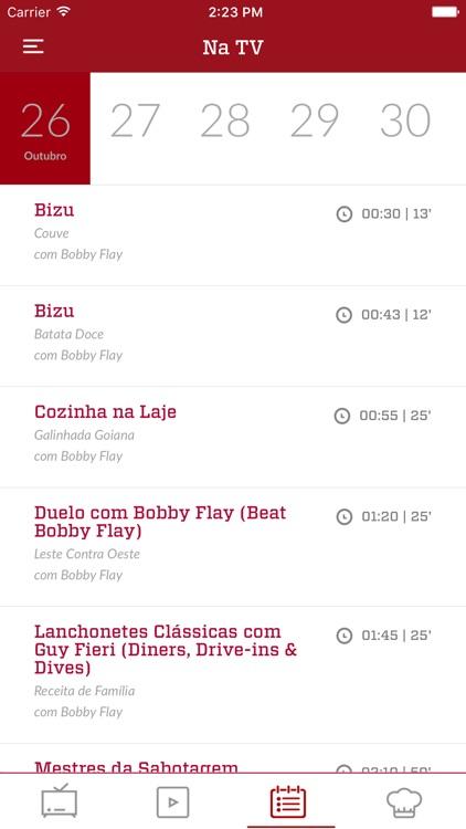 Food Network Brasil screenshot-7