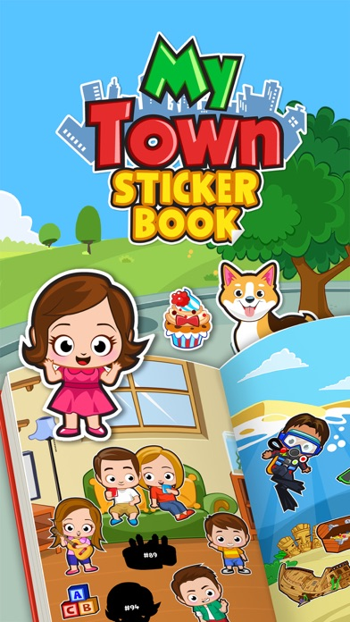 My Town : Sticker Book screenshot 1
