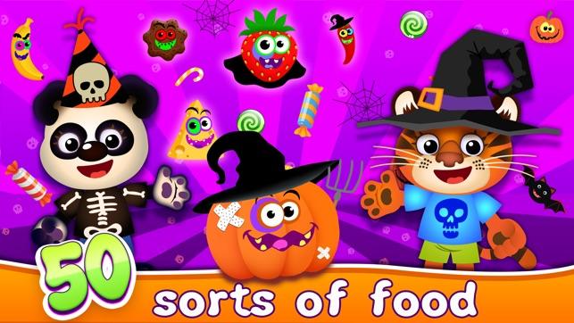 Halloween Kids Toddlers Games 4+