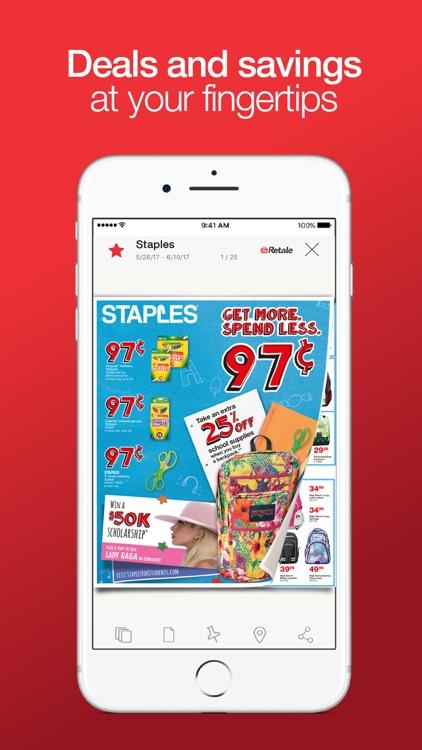 Retale - Coupons, Shopping Deals & Weekly Ads screenshot-0