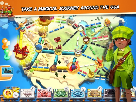 Ticket to Ride: First Journey screenshot 7