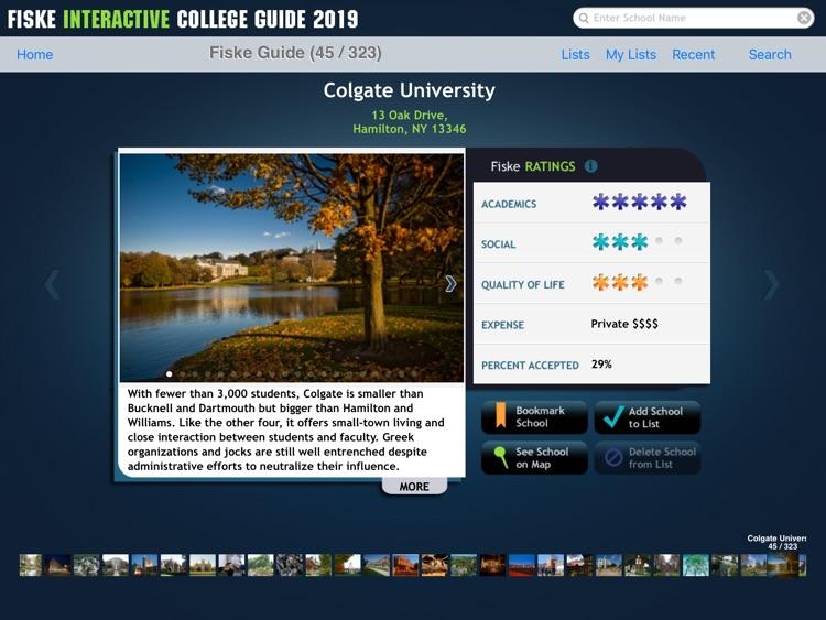 Fiske College Guide 2019 screenshot-3