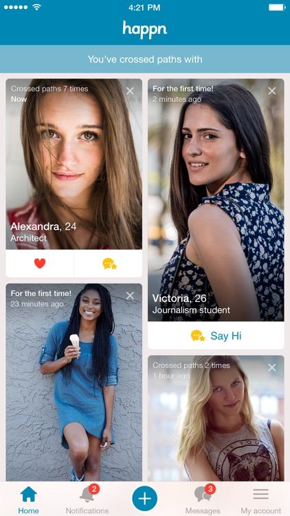 happn — Dating app — Find and meet your crush screenshot-0