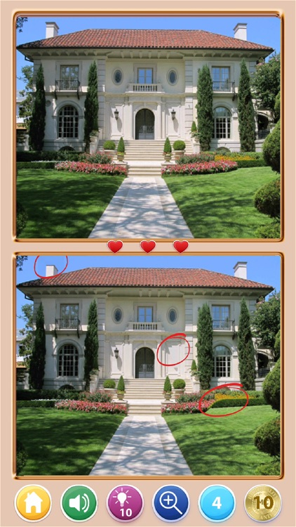 Find The Difference! Houses HD