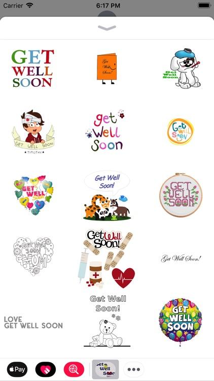 Get Well Soon Stickers 2018 screenshot-3