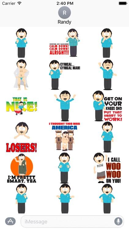 South Park: Randy Stickers