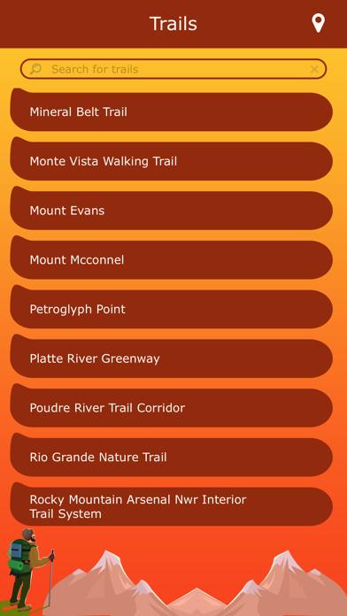 Colorado Hiking Trails screenshot two