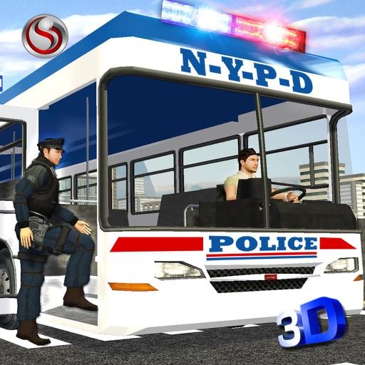 Полиция автобус персонал Транс