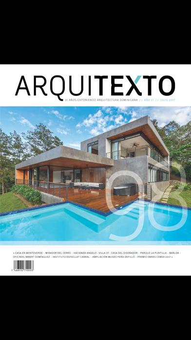 Arquitexto - Revista Dominican screenshot 3