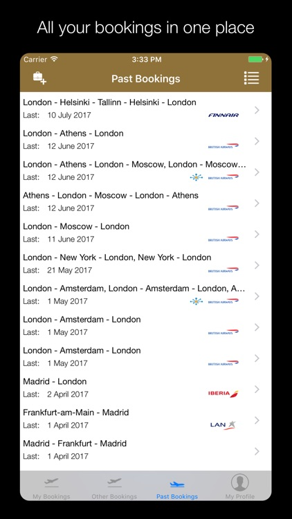 MyFlights screenshot-1