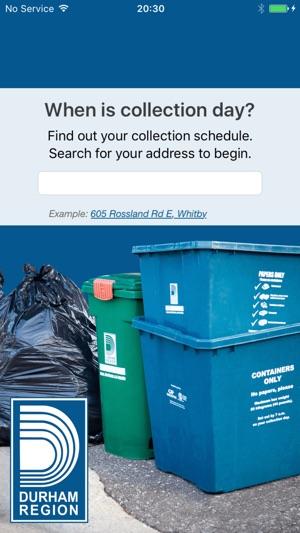 Durham Region Waste On The App Store