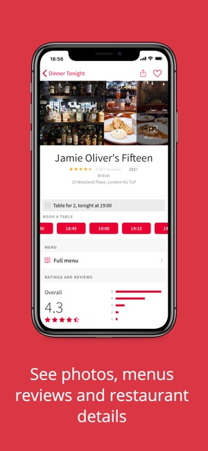 OpenTable Restaurant Bookings On The App Store - Open table dinner