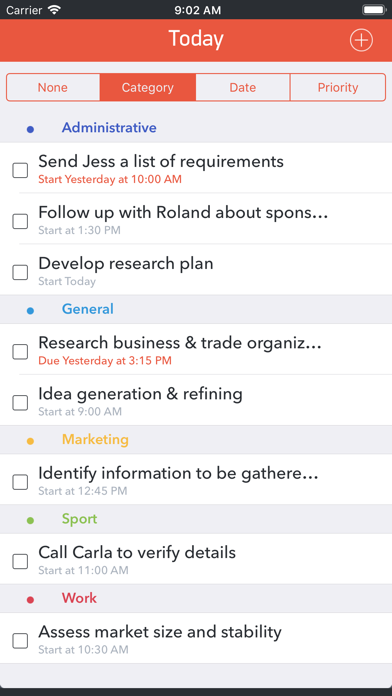 GTD Office: Tasks & Calendar screenshot two