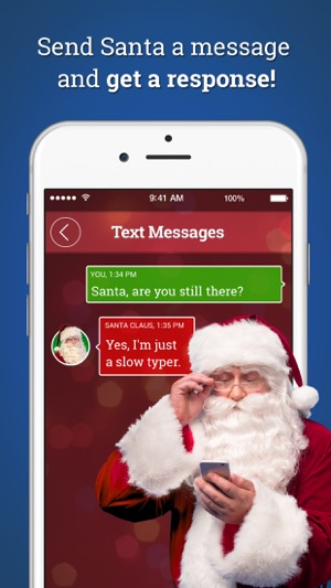 6f03720a0e Message from Santa! on the App Store