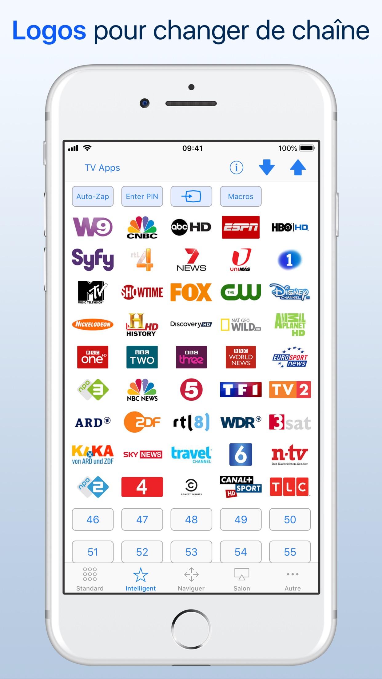 myTifi remote pour Samsung TV Screenshot