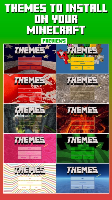 Themes for Minecraft screenshot 1