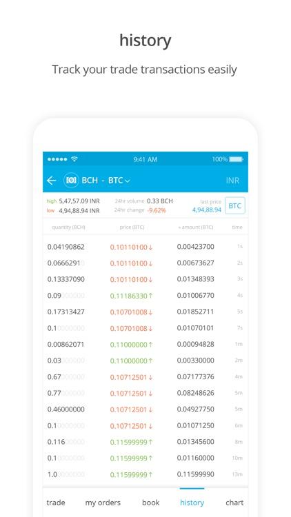 Zebpay Cryptocurrency Exchange screenshot-6