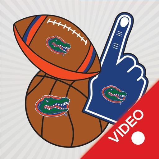 Florida Gators Animated Selfie Stickers
