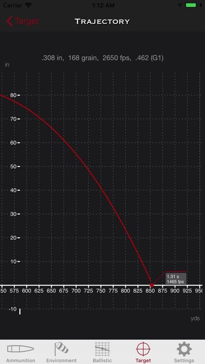 SBC - Ballistic calculator screenshot-5