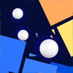 Crazy Pinball-balls block game
