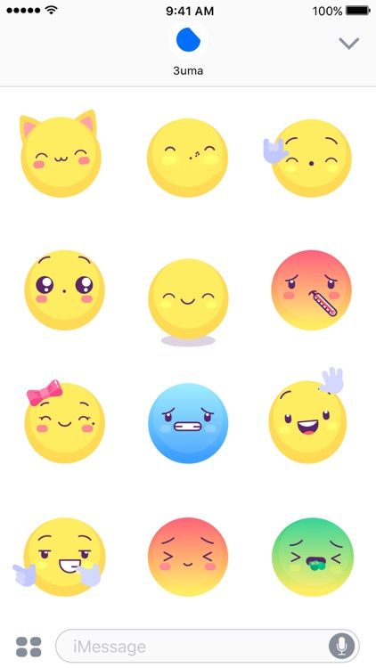 Yellow Emojis - Animated Sticker Keyboard screenshot-3