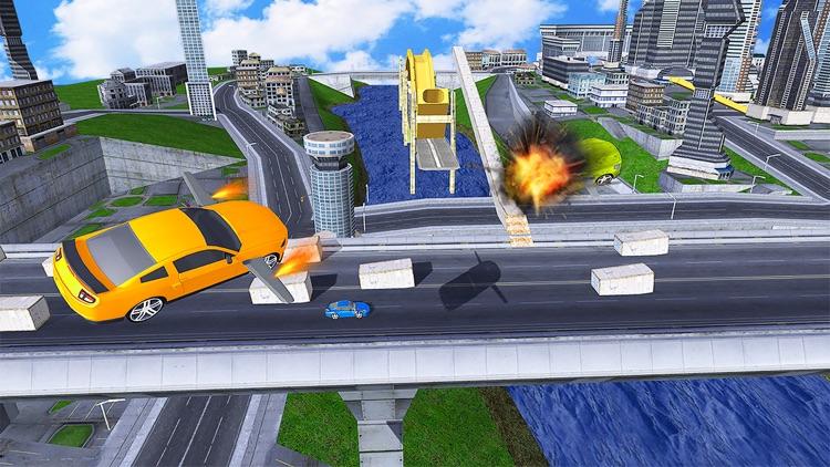 Flying car driving flight sim screenshot-3