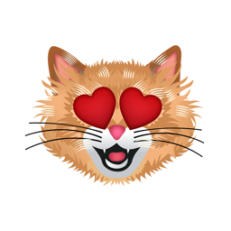 Ícone do app CatMoji - Cat Emoji Stickers